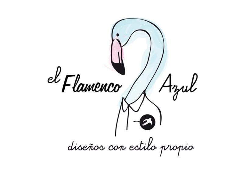 EL FLAMENCO AZUL 1