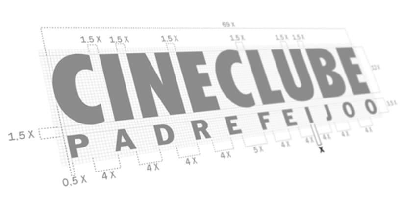 CINECLUBE Padre Feijoo. Logotipo y camisetas. (Ourense 1994). 2
