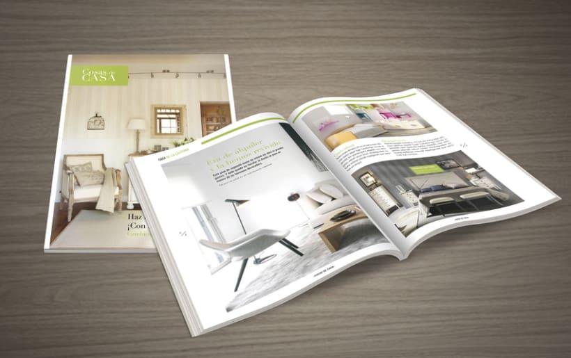 Revisi n revista cosas de casa domestika for Cosas de casa revista decoracion