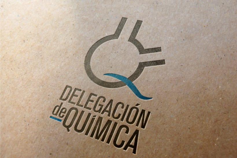 Logo Delegación de Química UAH 1