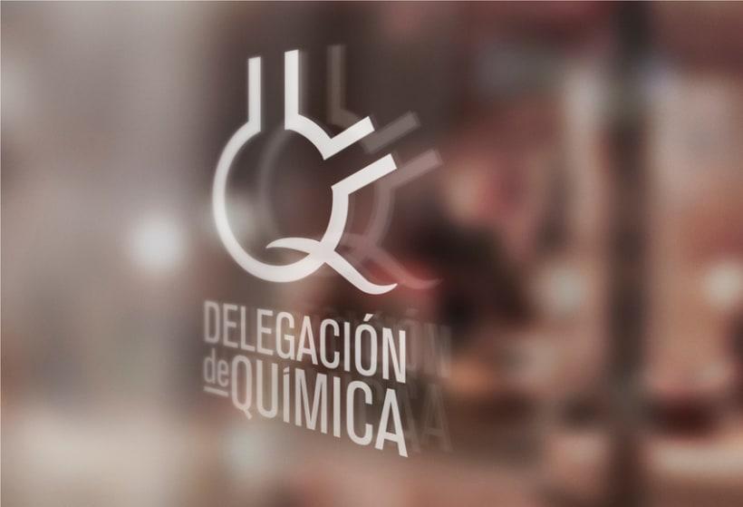 Logo Delegación de Química UAH 2