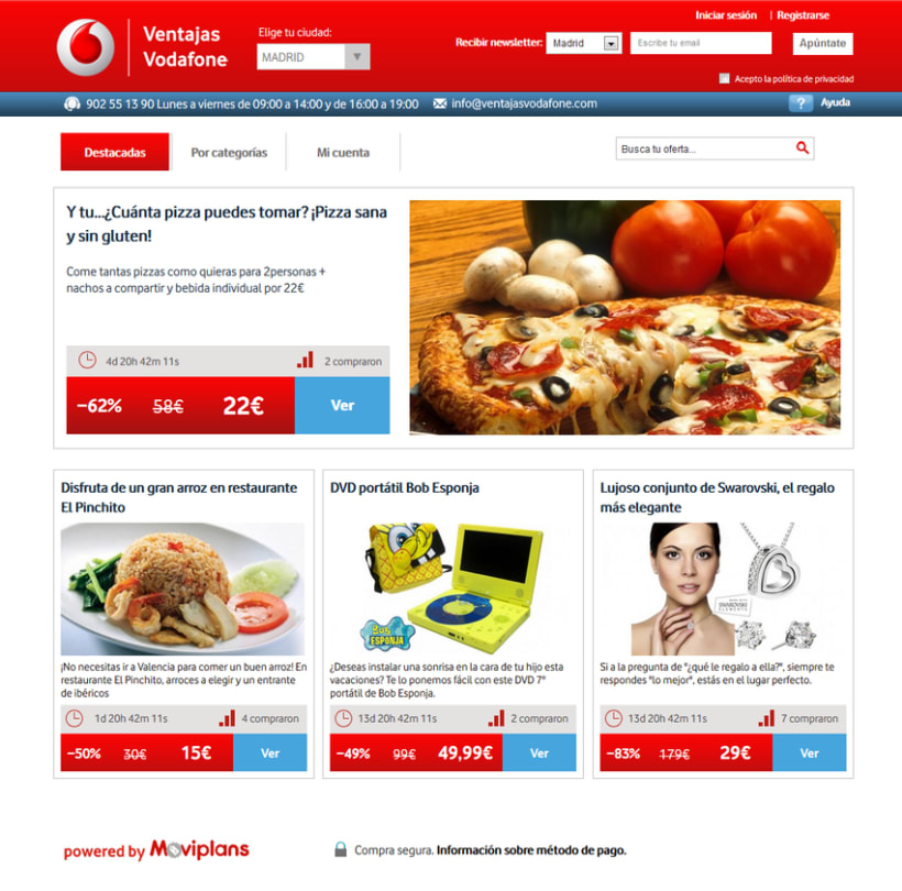 Ventajas Vodafone 0