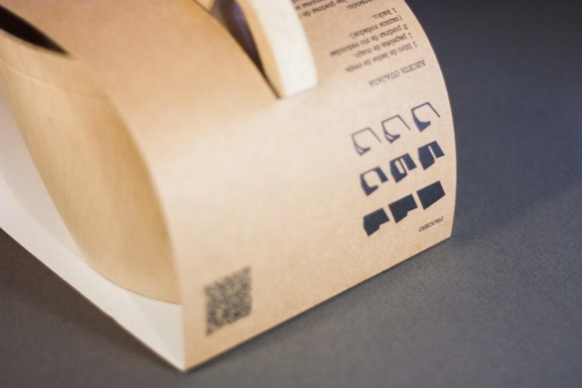 Packaging  y logotipo ARNA 3