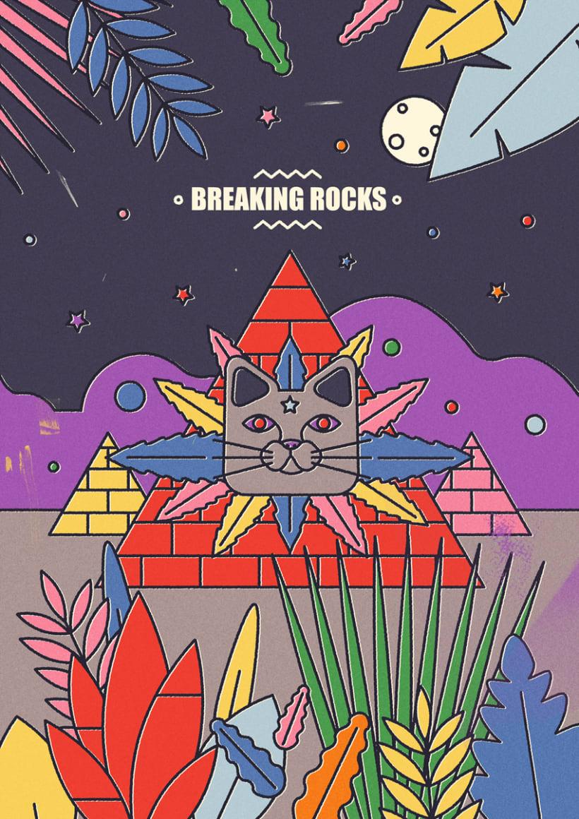 BREAKING ROCKS -1