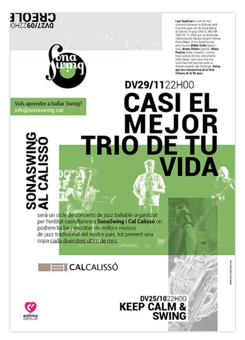 Carteles conciertos Trimestrales Sona Swing  -1