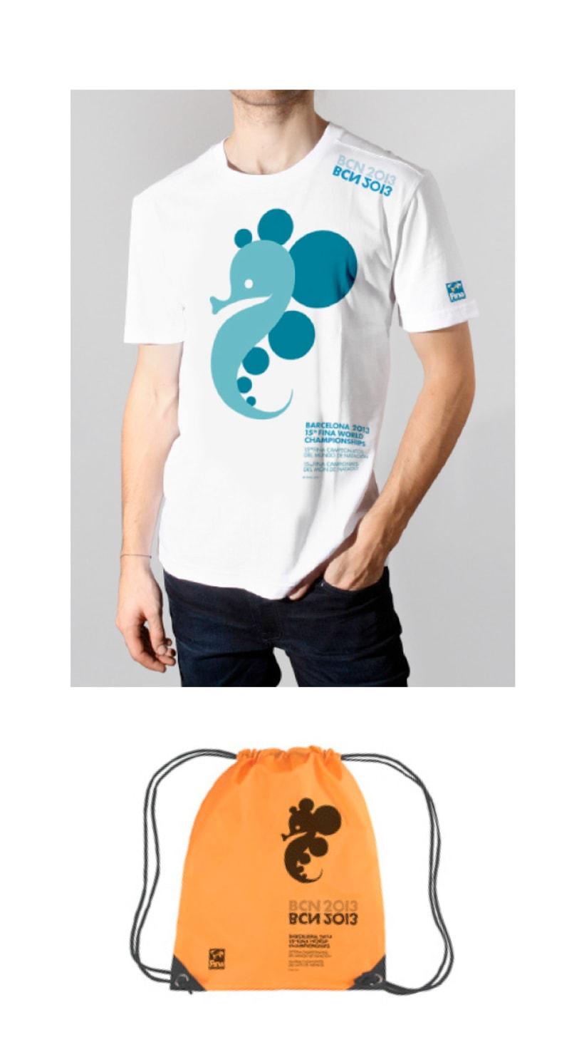 BCN2013 - Proposta Concurs Logo Mundials Natació 0