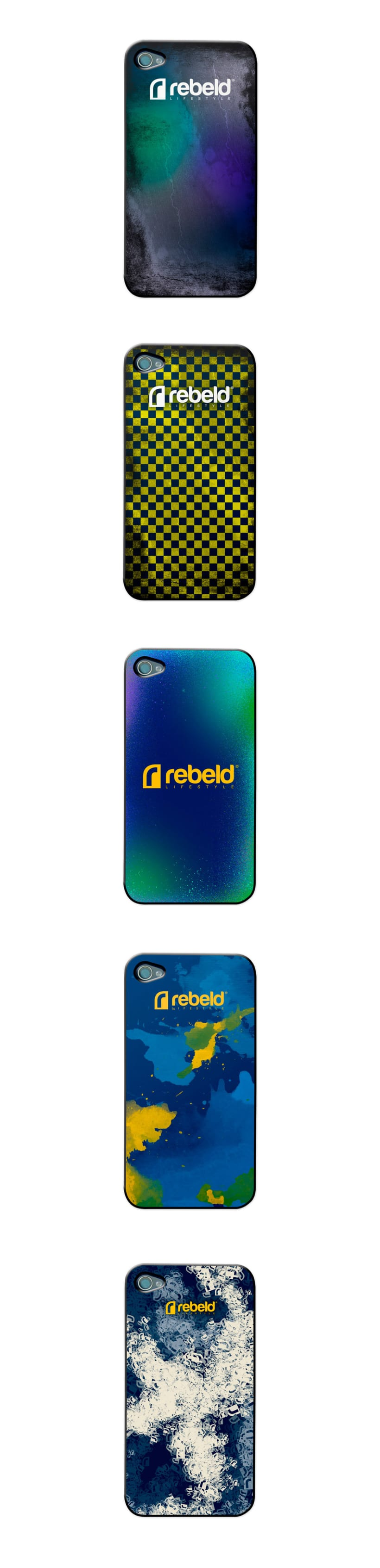 REBELD IPHONE CASES 2012. Estampación aplicada 0