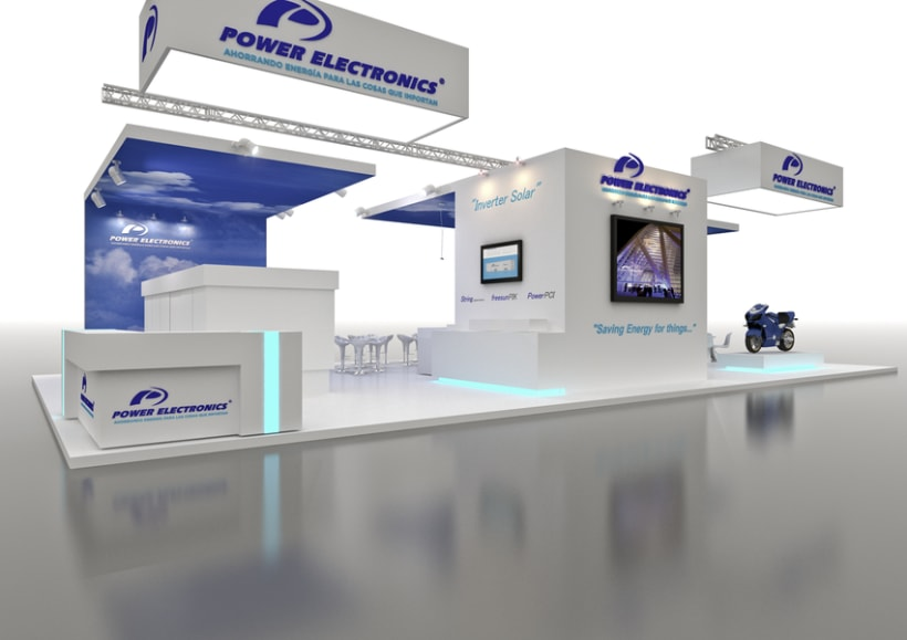 Stand Power Electronics. Feria Inter Solar 2013 (Alemania) 0