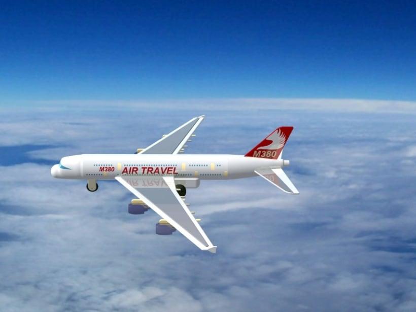 """Diseño """"Proyecto Avión M380"""" Catia v5 - módulo Part Design (sólidos)  1"""
