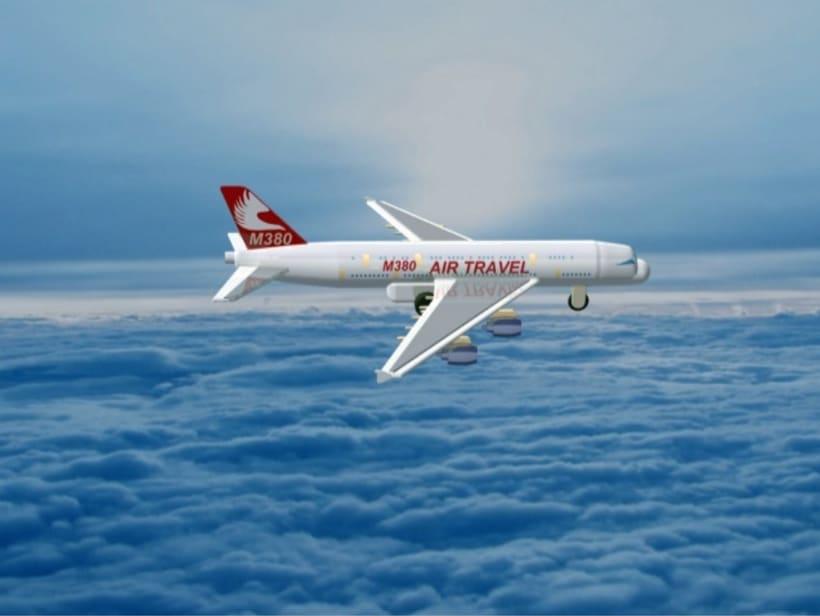 """Diseño """"Proyecto Avión M380"""" Catia v5 - módulo Part Design (sólidos)  2"""