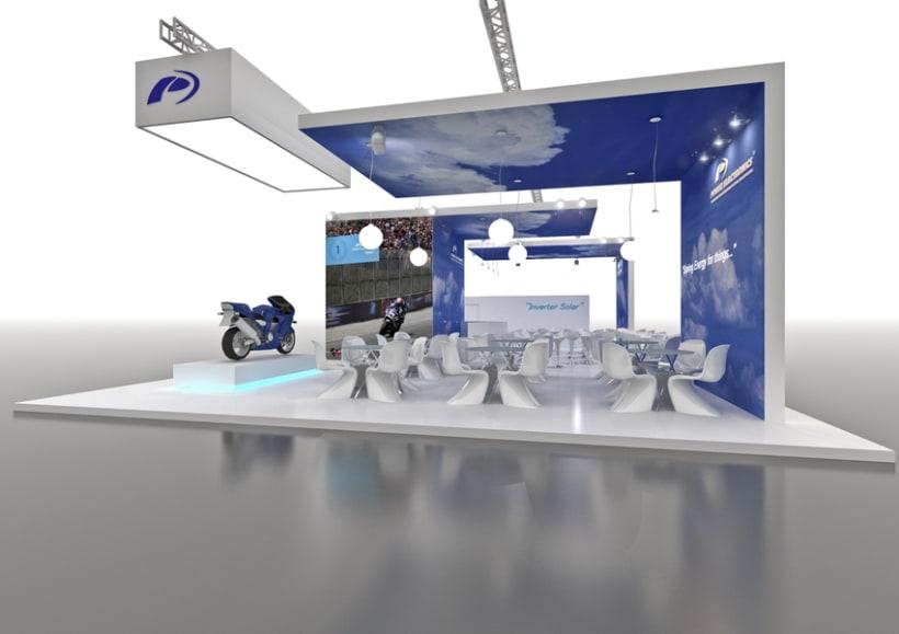 Stand Power Electronics. Feria Inter Solar 2013 (Alemania) 2