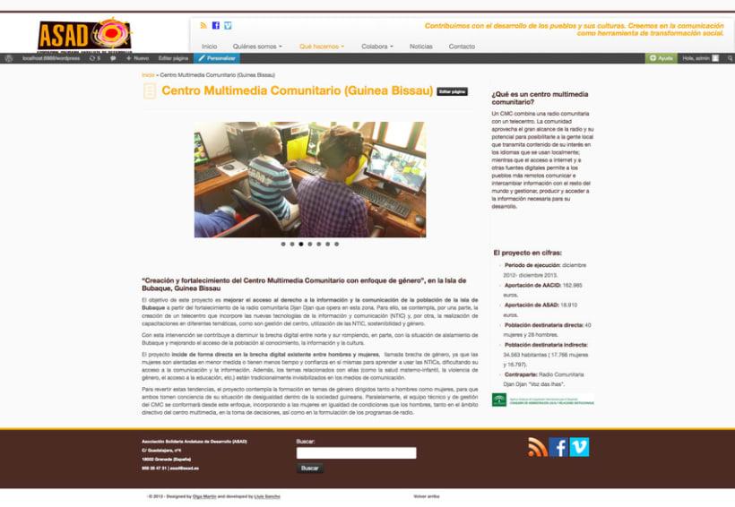 Web ONG ASAD 1