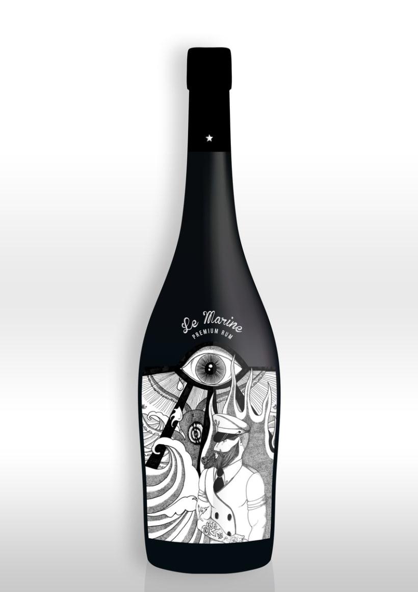 LE MARINE Premium Rum 2