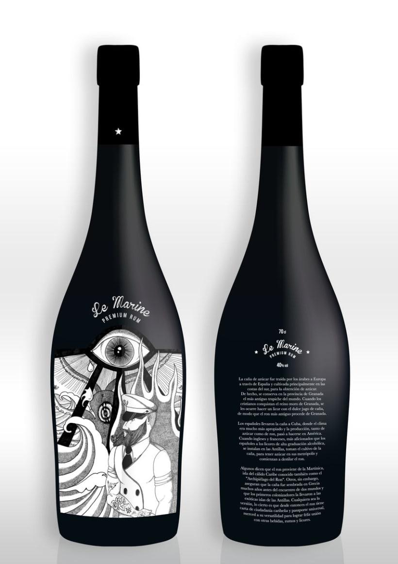 LE MARINE Premium Rum 3