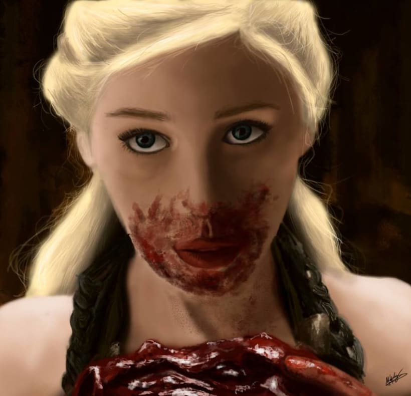 Personal work - Khaleesi 0