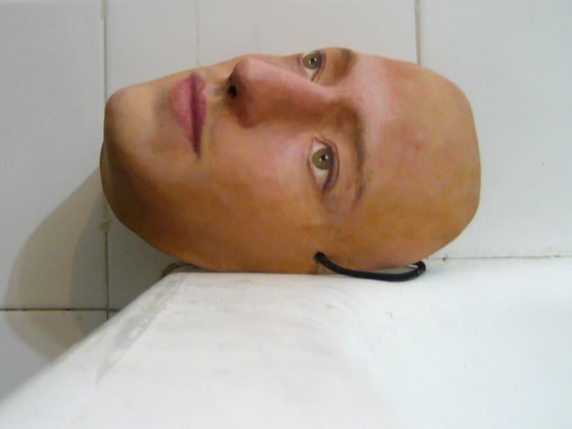 """Máscara para el espectáculo """"Roda, Món"""" de Mumusic Circus. 0"""
