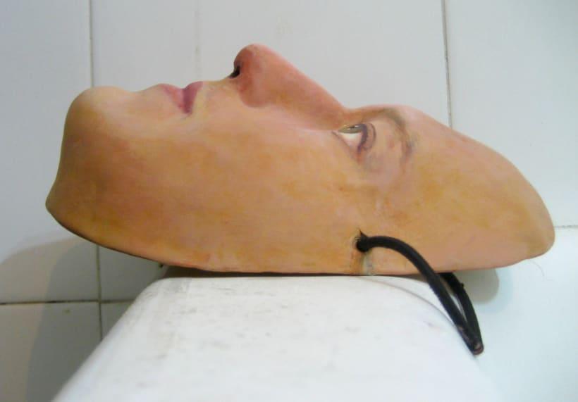 """Máscara para el espectáculo """"Roda, Món"""" de Mumusic Circus. 1"""