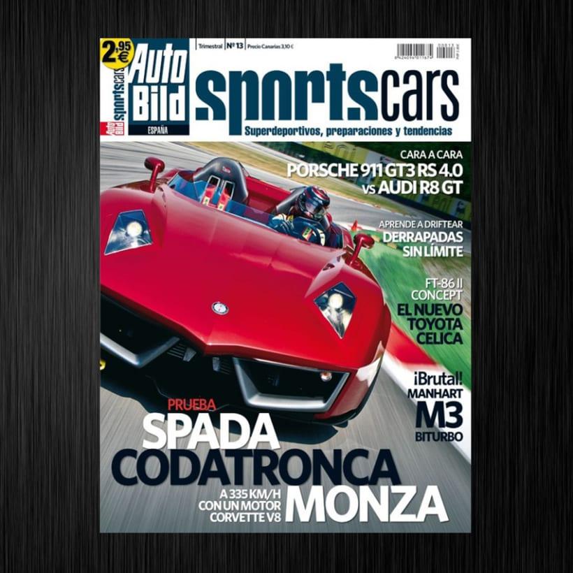 Revista Auto Bild Sportcars 1
