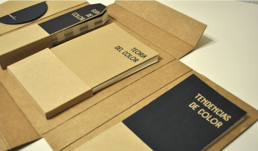 packaging libro de color, The Colours Box 2