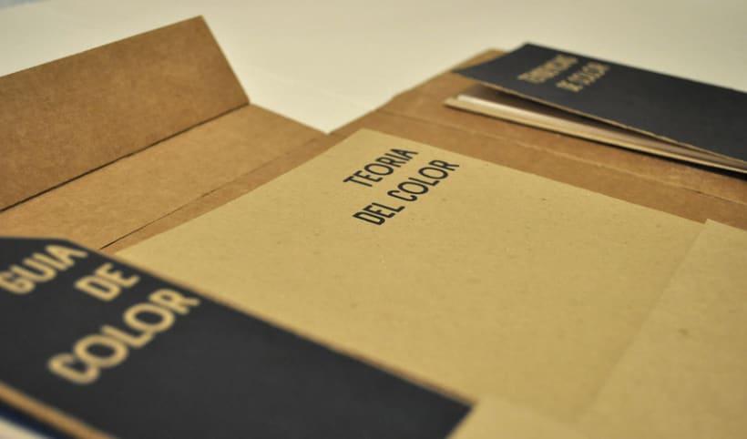 packaging libro de color, The Colours Box 3