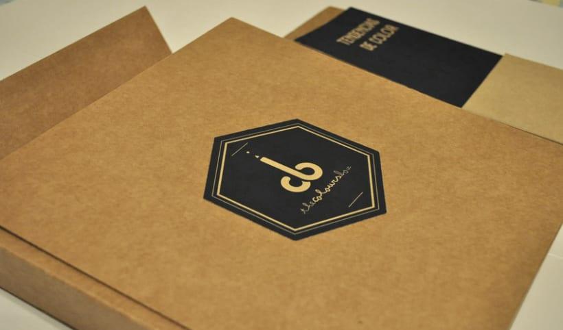 packaging libro de color, The Colours Box 1