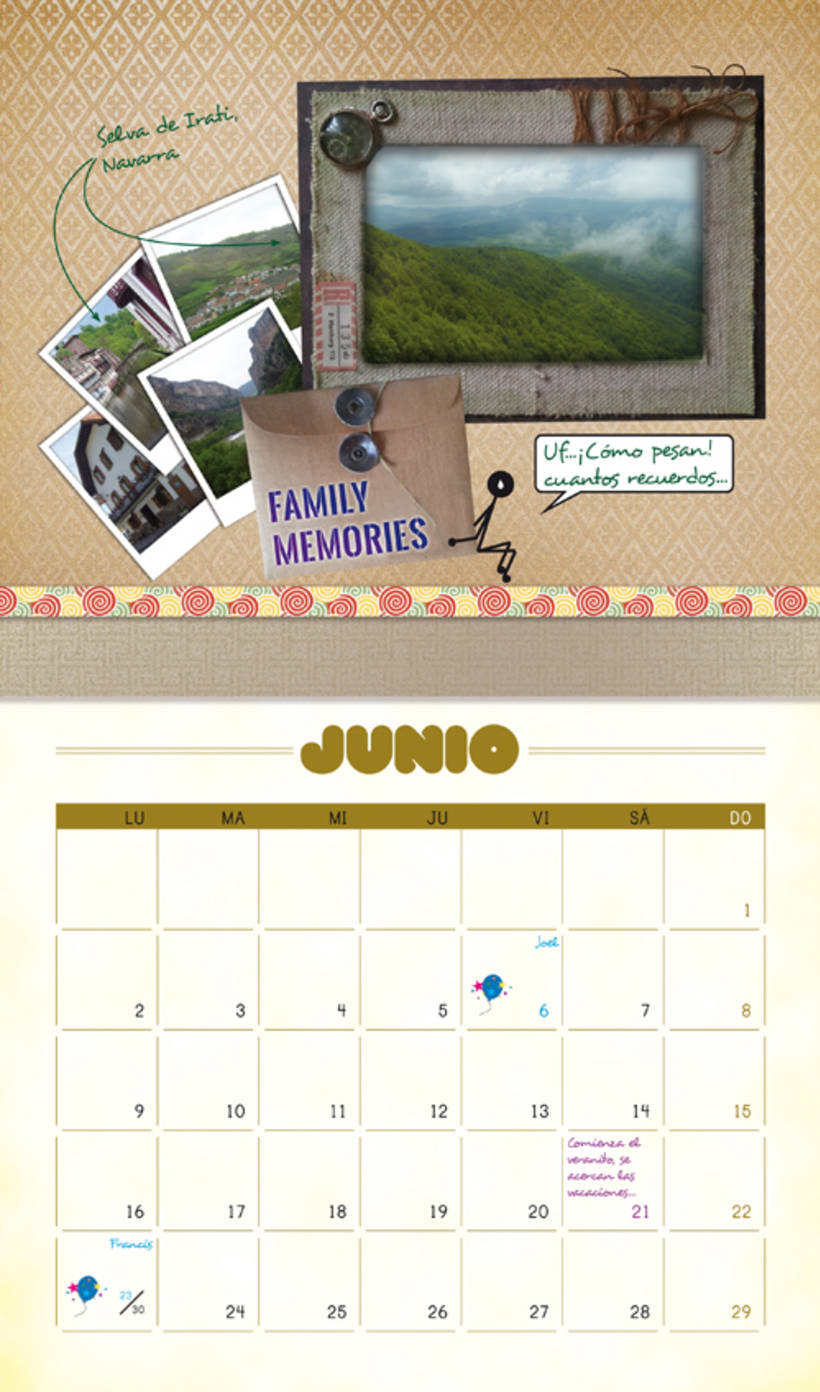 calendarios... un mismo objetivo, diseños ilimitados! 11