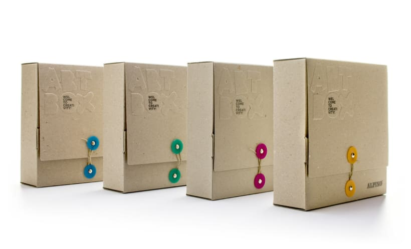 Naming, diseño de marca y packaging | Alpino ArtBox 1
