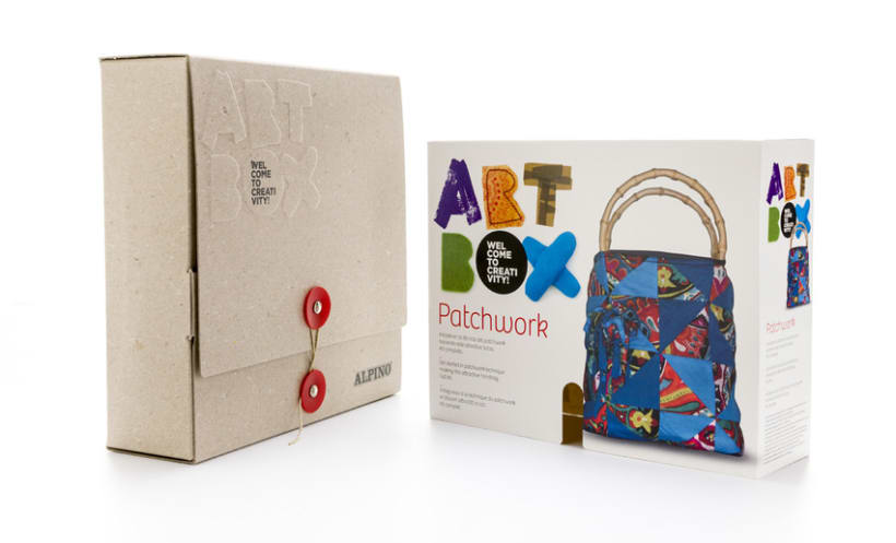 Naming, diseño de marca y packaging | Alpino ArtBox 2