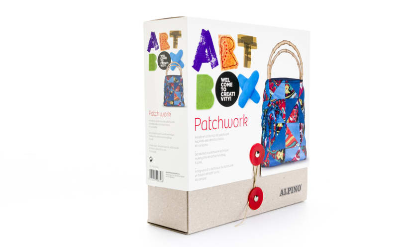 Naming, diseño de marca y packaging | Alpino ArtBox 3