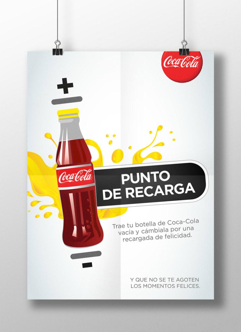 COCA-COLA RECARGA 4