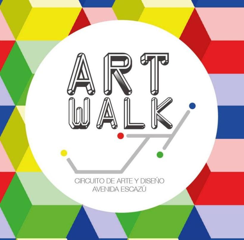 Comunicación y Diseño gráfico para la Feria de Arte Art Walk Costa Rica -1