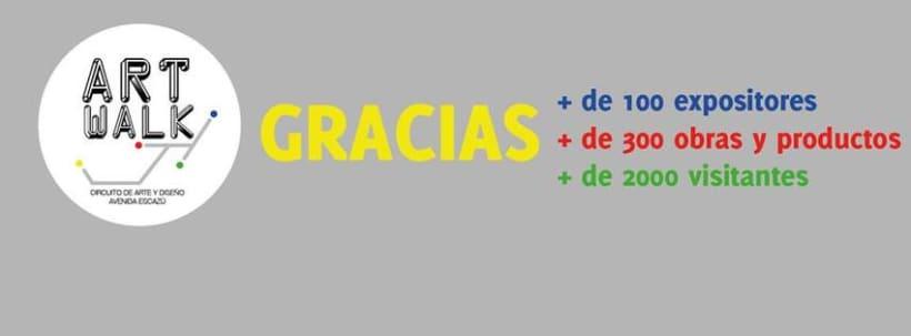 Comunicación y Diseño gráfico para la Feria de Arte Art Walk Costa Rica 0