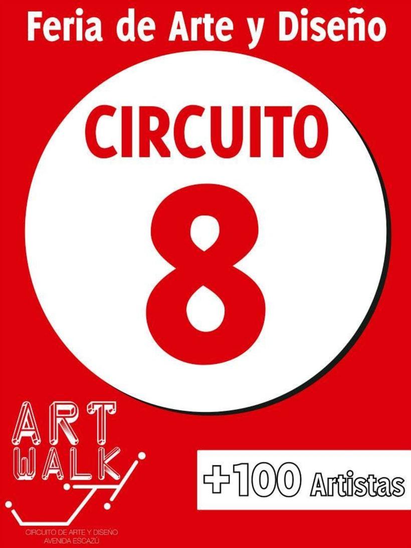 Comunicación y Diseño gráfico para la Feria de Arte Art Walk Costa Rica 6