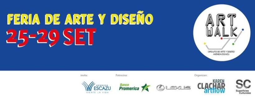 Comunicación y Diseño gráfico para la Feria de Arte Art Walk Costa Rica 7