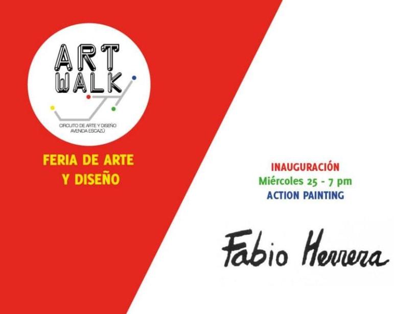 Comunicación y Diseño gráfico para la Feria de Arte Art Walk Costa Rica 9