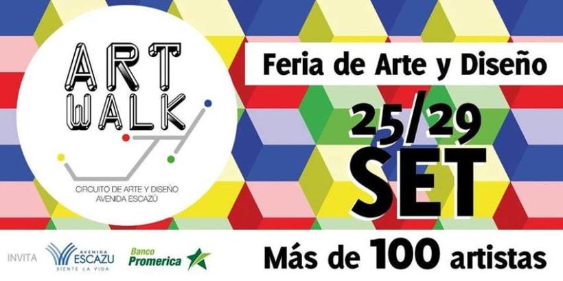 Comunicación y Diseño gráfico para la Feria de Arte Art Walk Costa Rica 10