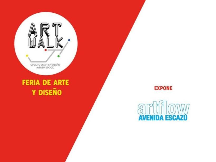 Comunicación y Diseño gráfico para la Feria de Arte Art Walk Costa Rica 11