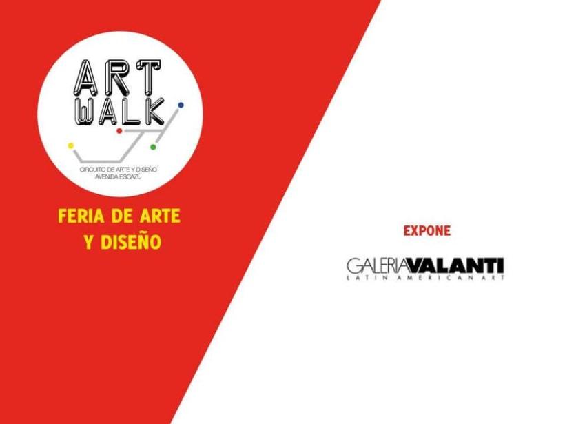Comunicación y Diseño gráfico para la Feria de Arte Art Walk Costa Rica 12