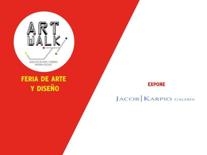 Comunicación y Diseño gráfico para la Feria de Arte Art Walk Costa Rica 14
