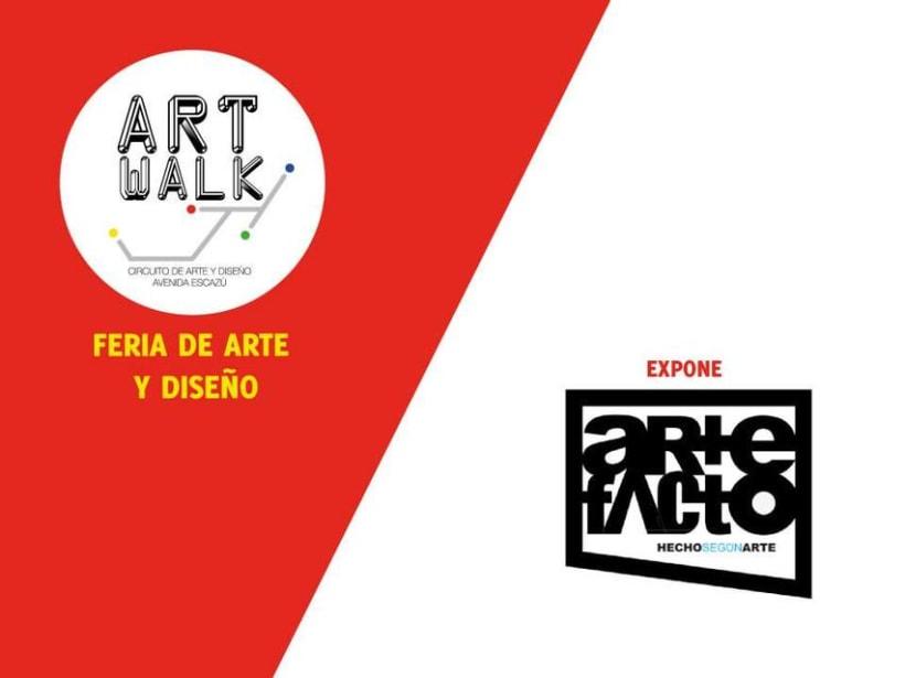 Comunicación y Diseño gráfico para la Feria de Arte Art Walk Costa Rica 15