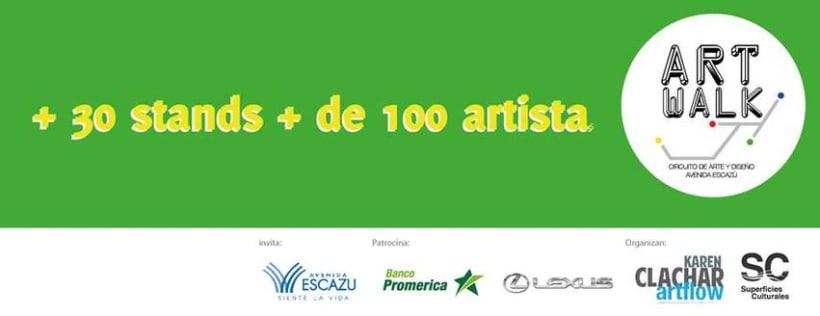 Comunicación y Diseño gráfico para la Feria de Arte Art Walk Costa Rica 16
