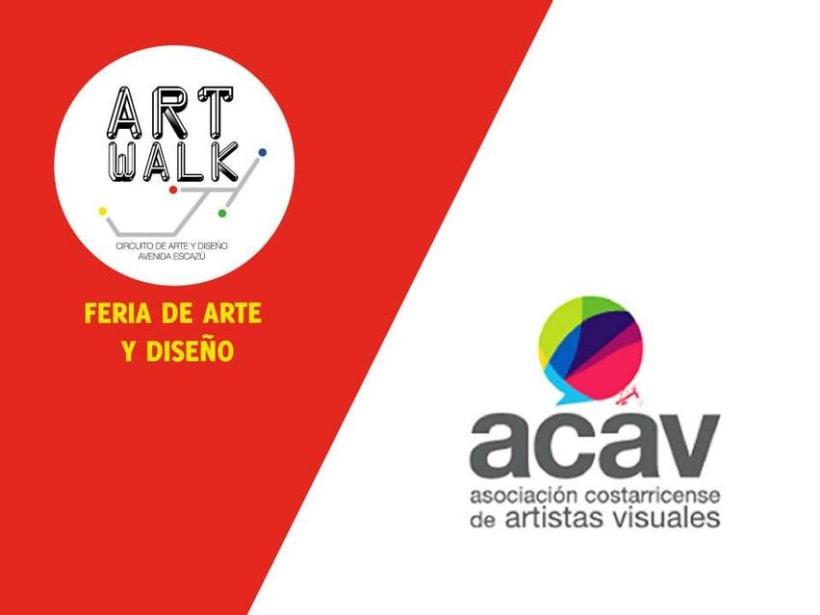 Comunicación y Diseño gráfico para la Feria de Arte Art Walk Costa Rica 17