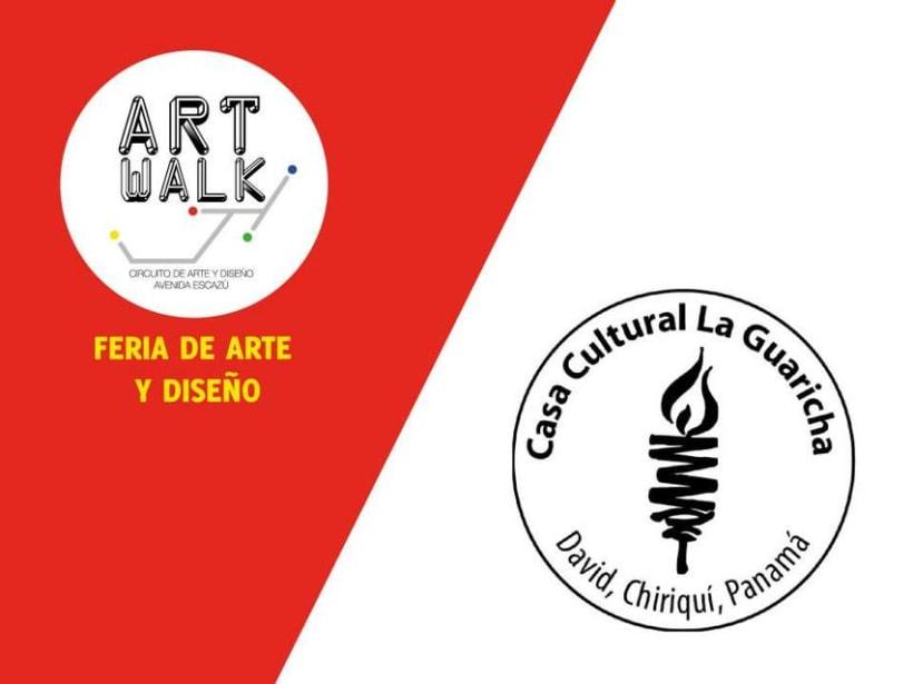 Comunicación y Diseño gráfico para la Feria de Arte Art Walk Costa Rica 18