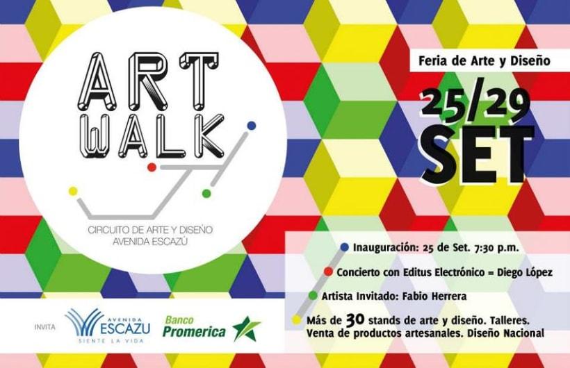 Comunicación y Diseño gráfico para la Feria de Arte Art Walk Costa Rica 20