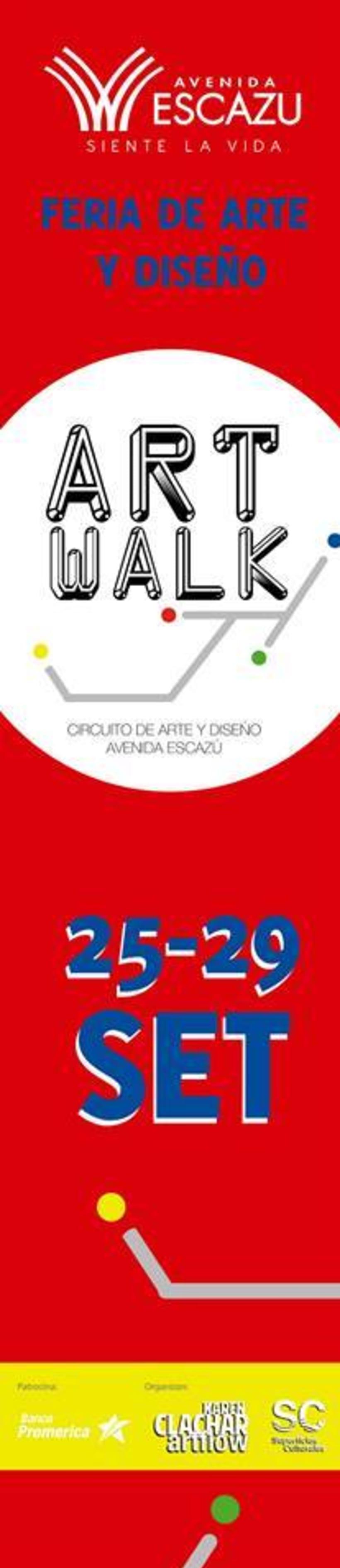 Comunicación y Diseño gráfico para la Feria de Arte Art Walk Costa Rica 21