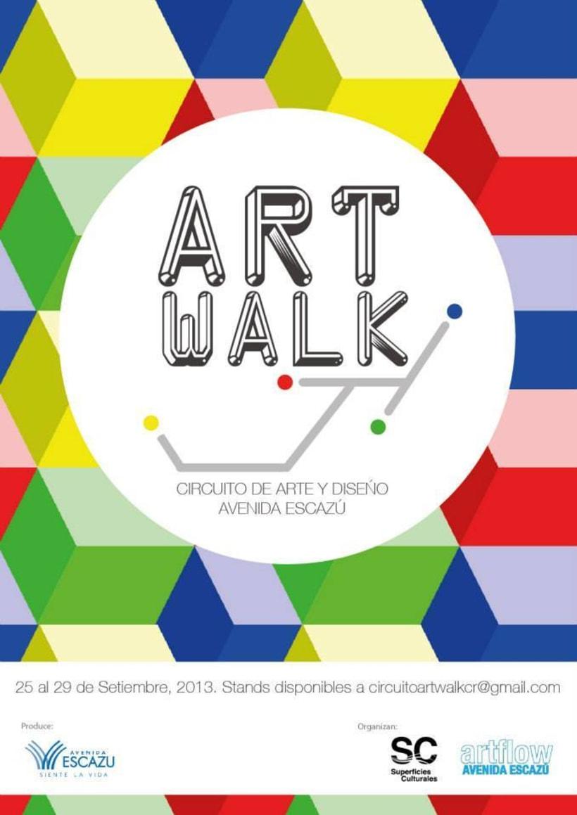Comunicación y Diseño gráfico para la Feria de Arte Art Walk Costa Rica 22