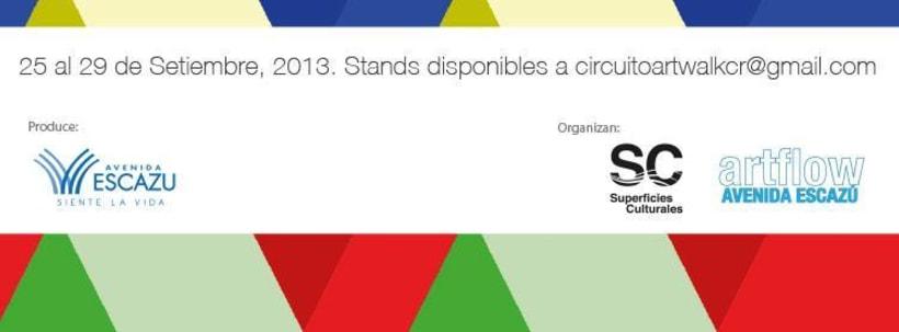Comunicación y Diseño gráfico para la Feria de Arte Art Walk Costa Rica 23
