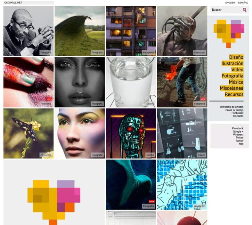 Rediseño de OLDSKULL.NET 2014 0