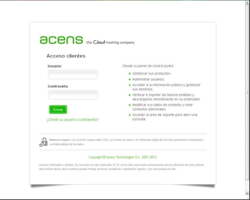 Rediseño de la página de acceso a la gestión de productos 1
