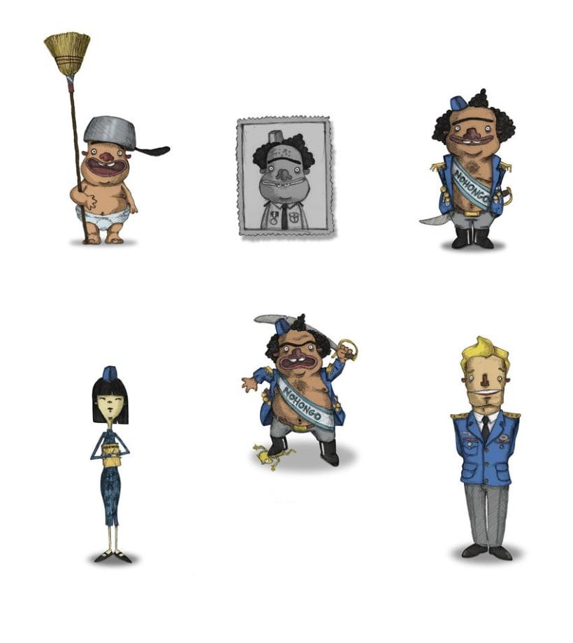 Diseño de personajes 15